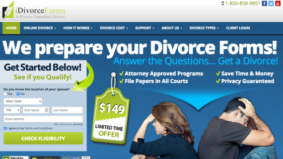 best online divorce website